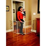Baby : Regalo 76-Inch Super Wide Configurable Walk Through Baby Gate, Hardware Mount