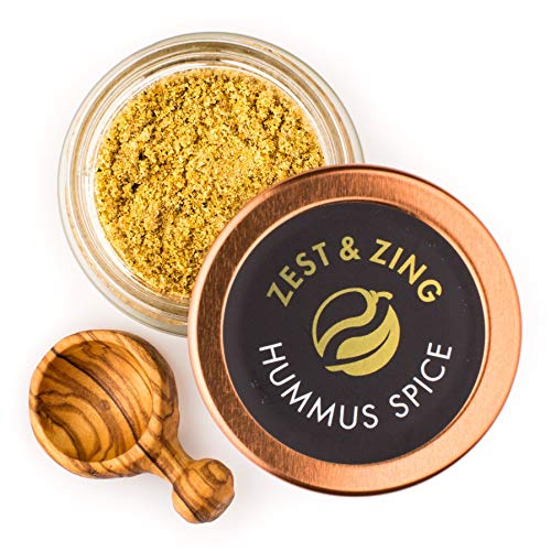 Spice Falafel (Hummus Spice (Ground), 1 oz - Premium Blends By ZEST & ZING. Fresher, convenient, stackable Spice Jars.)