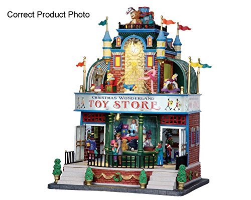 Lemax Christmas Wonderland Toy Store #05070