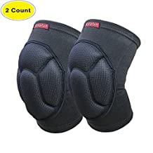 Lepfun S9000 Knee Pads, (1Pair) Thick Sponge Anti-collision Kneeling Kneepad Support for Outdoor, Climbing and Sports