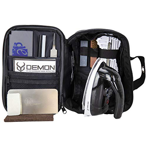 Demon Snowboard/Ski Wax Iron & Complete Tune Kit