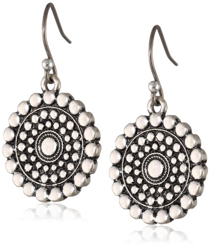 Lucky Brand Blue Tribal Earrings product image