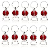 Zhengpin 2018 Russia FIFA World Cup Souvenirs Soccer Football Game Bottle Opener Keychain with 32 Countries National Flags Small Gifts for Football or Soccer Fans (10pcs of bottle opener) Review