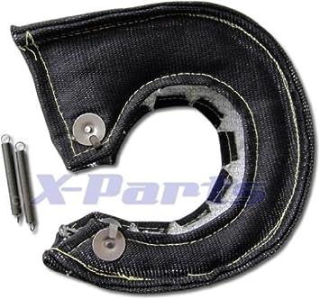 T3 Turbo protección de calor Garrett KKK Turbo Negro Cerámica 1200 °C PAMPERS: Amazon.es: Coche y moto