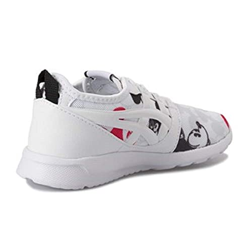 ASICS - Zapatillas de Gimnasia de Sintético para niña Blanco Bianco: Amazon.es: Zapatos y complementos