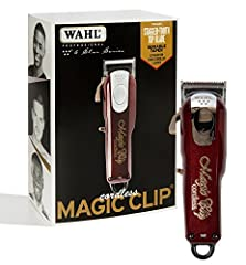 From Wahl Professional's commercial grade line of products, the 5-Star Cord/Cordless Magic Clip is intended for professional use only and is designed to deliver the sharp performance that experts demand with the freedom of a cordless clipper....