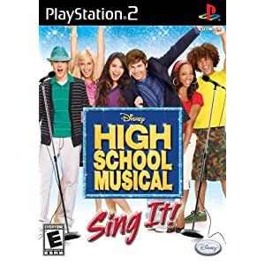 High School Musical: Sing it! Bundle With Microphone - PlayStation 2