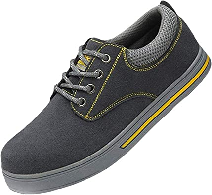 Botas de Seguridad Unisex Gorra con Punta de Acero Zapatos de ...
