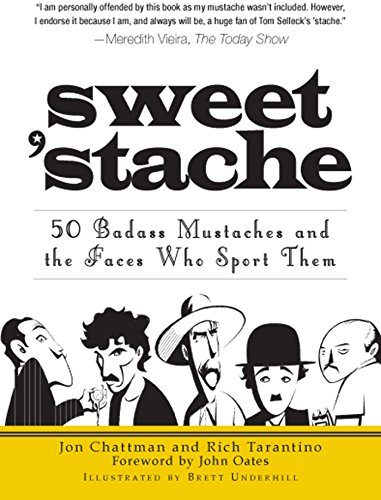Amazon sweet stache 50 badass mustaches and the faces who sweet stache 50 badass mustaches and the faces who sport them by chattman fandeluxe Image collections