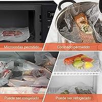 YISSVIC Bolsas Vacio Alimentos 4 PCS Rollos para Envasadora ...