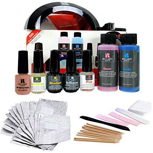 Red Carpet Manicure Pro 45 Starter Kit (Best Gel Nail Kit Reviews)