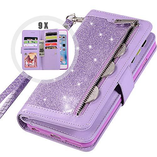 Top 10 best iphone 7 zipper wallet case purple: Which is the best one in 2020?