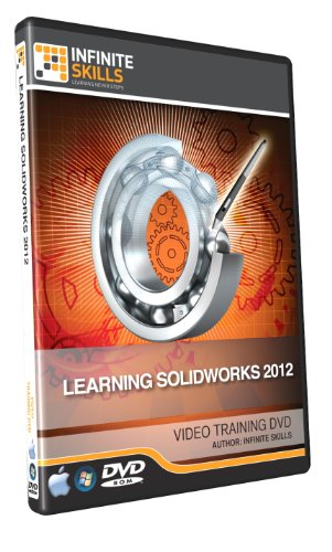 Learning SolidWorks 2012 Training DVD - 10 Hours of Tutor...