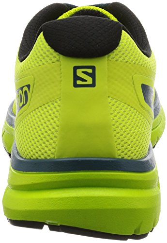 Salomon Mens Sonic Shoes Lime Punch / Lime Green / Mallard Blue sDcc4