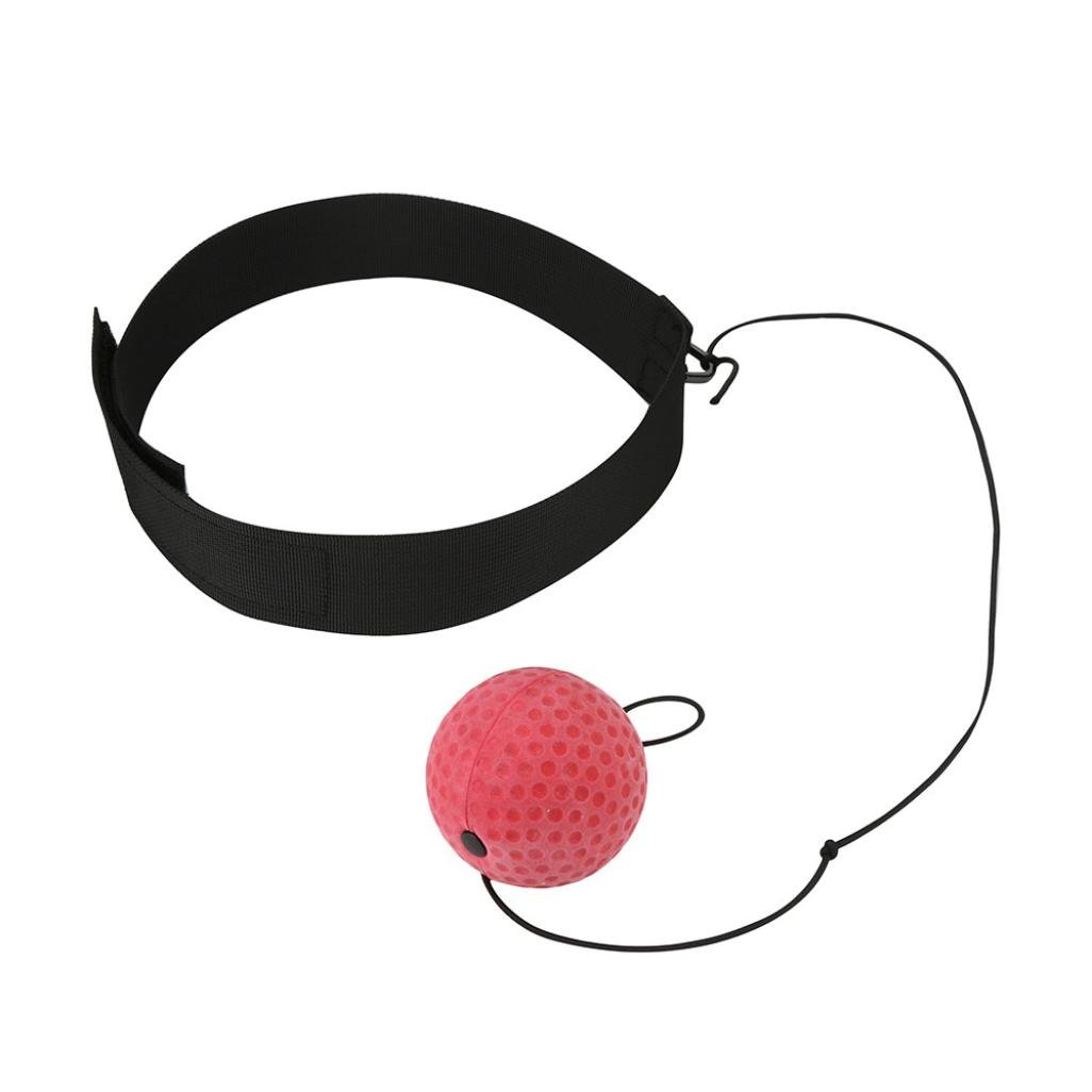wuayi Fight Ball With Head Band For Reflex Speed Training Boxing Home Boxing Punch Exercise for All Age