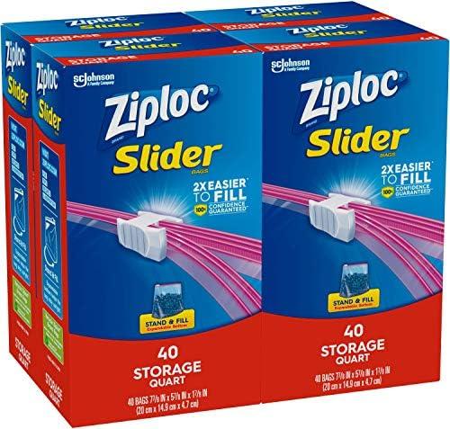 Ziploc Slider Storage Quart Total product image