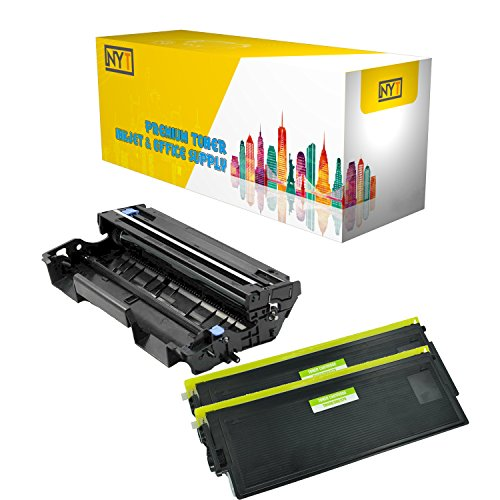 (New York Toner New Compatible 3 Pack High Yield Toner & Drum for Brother DR510 TN570 - MFC MultiFunction Printers:MFC-8120 | MFC-8220 | MFC-8440 | MFC-8440D | MFC-8640D .--Black)