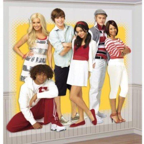 amscan High School Musical Scene Setter Giant Poster