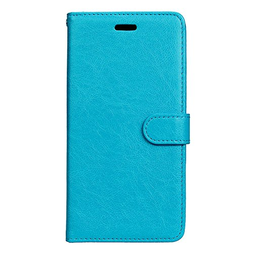 Anzeal Xiaomi Redmi Note 3 Case,[Stand Function] [3 Card Slots] PU Folio Flip Wallet With Strap Magnetic Case Leather Protective Cover for Xiaomi Redmi Note 3 Blue