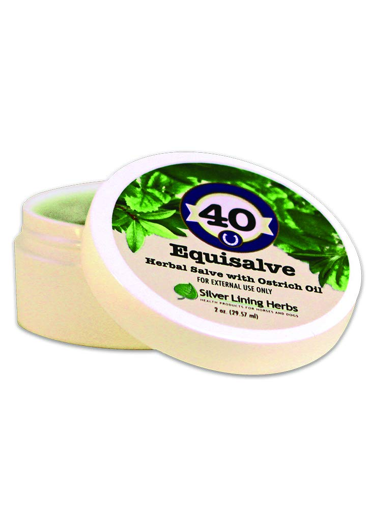 Equisalve Horse Salve   Gall Salve for Horses  Use on Open Wounds, Scratches, Rashes   Made by Silver Lining Herbs in the USA Of  Natural Herbs