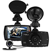 Dual Lens Dash Cam 1080P DVR Video Recorder Car Camera HD Night Vision