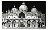 1:100 Scale Model of St. Mark's Piazza in Venice Rome, Italy Original Vintage Postcard