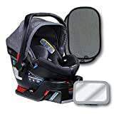Britax B-Safe 35 Elite Infant Car Seat, Vibe, Back Seat Mirror, and 2 EZ-Cling Window Sun Shades