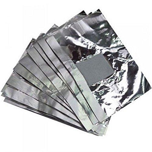 100Pcs Aluminium Nail Polish Remover Soak Off Gel Polish Nai