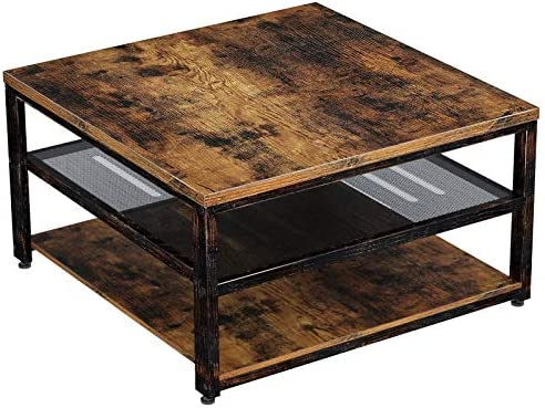 Best living room table: Rolanstar Industrial Coffee Table