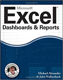 Excel Dashboards and Reports (Mr  Spreadsheet′s Bookshelf): Amazon