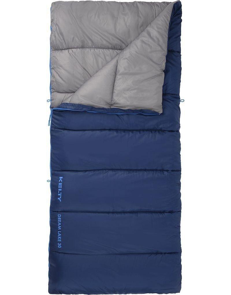 Kelty sueño lago 30 saco de dormir, color azul: Amazon.es: Deportes y aire libre