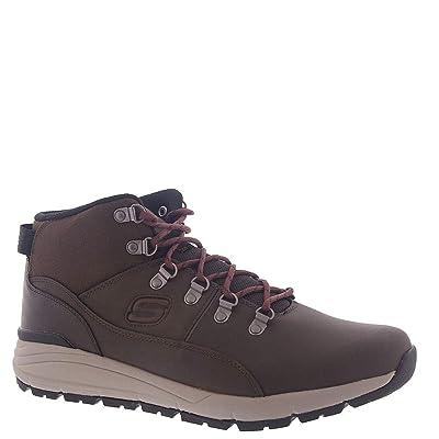 Skechers Men's Releaxed Fit Volero Merix Boots Red Brown 12 | Hiking Boots