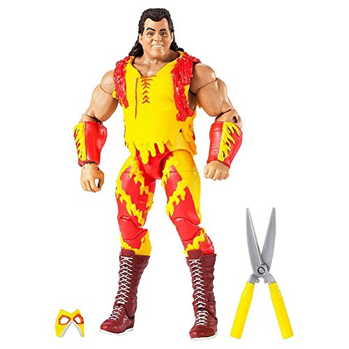 WWE Wrestle Mania Elite Brutus Beefcake Figure Action by WWE