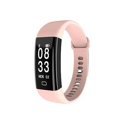 Amh de F09 de HR Fitness Smart Pulsera Frecuencia Cardíaca, fitness Tracker Actividad tracker con dormir supervisión, tensiómetro ...