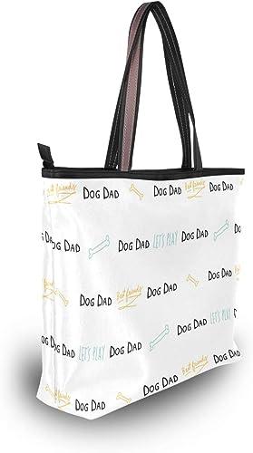 Stylish Bullmastiff Dog Women/'s Tote Bag Handbags Shoulder Bag for Gym Travel Picnic Beach