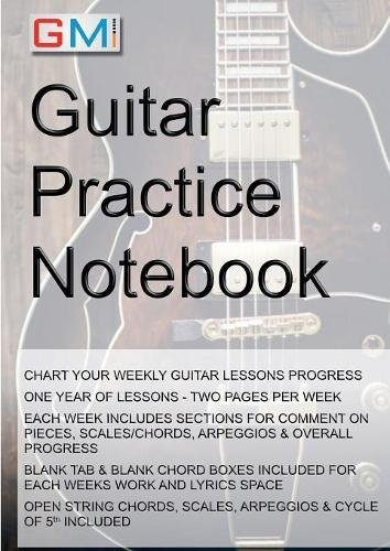 Download Guitar Practice Notebook ebook