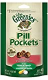 FELINE GREENIES PILL POCKETS Cat Treats, Salmon, 45 Treats, 1.6 oz. (Pack of 6)
