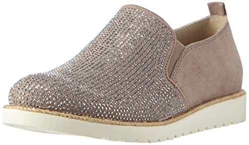 Jana 24603, Women's Loafers Grey - (Taupe 341)