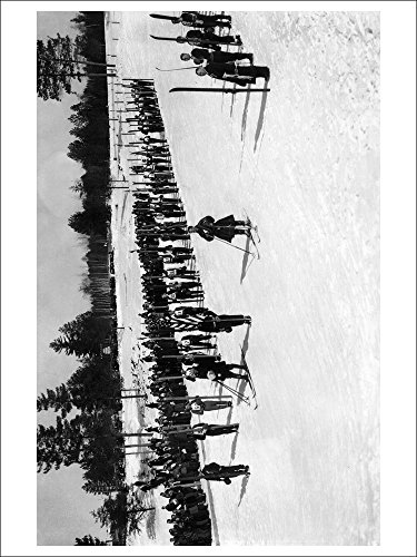 land-o-lakes-wisconsin-skiers-on-parade-near-kings-gateway-hotel-playing-card-deck-52-card-poker-siz