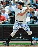 Nate Schierholtz San Francisco Giants Signed 8 x 10 Photo At Bat - Autographed MLB Photos