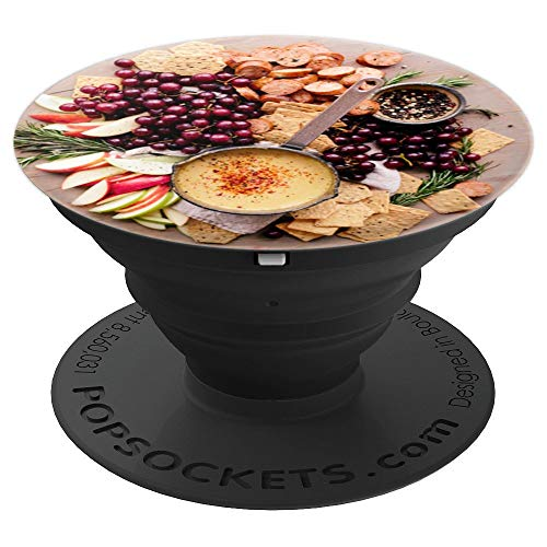 Fruit and Cheese Appetizer Plate Foodie Yum Party Food - PopSockets Grip and Stand for Phones and Tablets