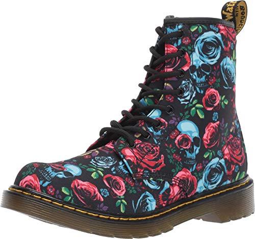 Dr. Martens Kid's Collection Girl's 1460 Rose Fantasy Boot (Big Kid) Rose Fantasy K T Canvas 5 UK (US 6 Big Kid)