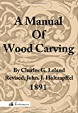 A Manual of Wood Carving, Charles Godfrey Leland, 0983150052