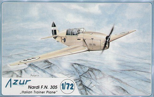 Azur Nardi FN305 Italian AF Trainer Aircraft Model Kit (1/72 Scale)