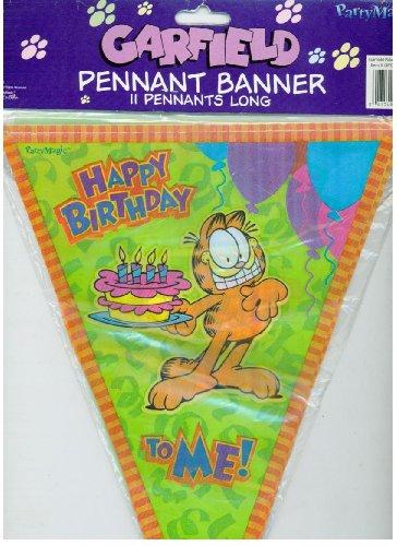 GARFIELD Birthday Party PENNANT BANNER - 11 -