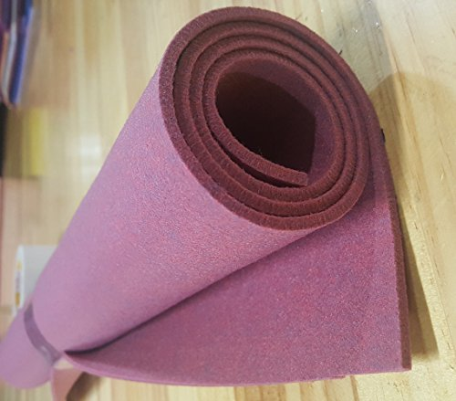 """Melange Color Felt Fabric Size 22""""x30"""" Thick 4mm Roll for sale  Delivered anywhere in USA"""