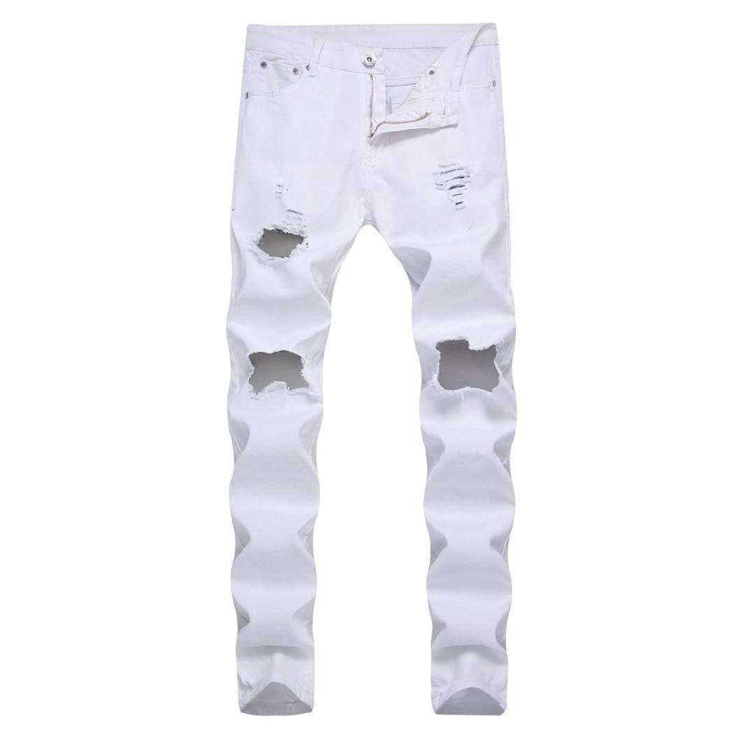 Mitlfuny Hombre Jeans Jeans Jeans Destruido Esencial ...