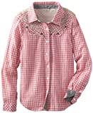 Miss Me Girls 7-16 Embellished Lace Western Top, Pink, Small image