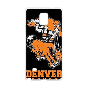 Denver Broncos Football Design Hard Case Cover Protector For Samsung Galaxy Note4