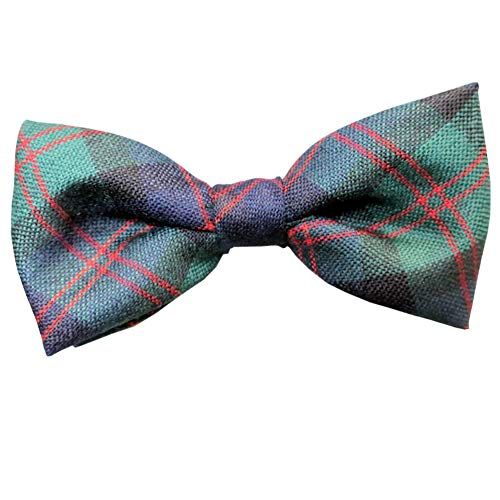 (Ingles Buchan Mens Scottish Wool Tartan Pre-Tied Bow Tie Blair)
